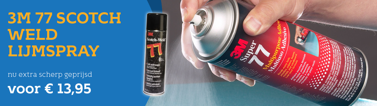 3M 77 Scotch-Weld Lijmspray