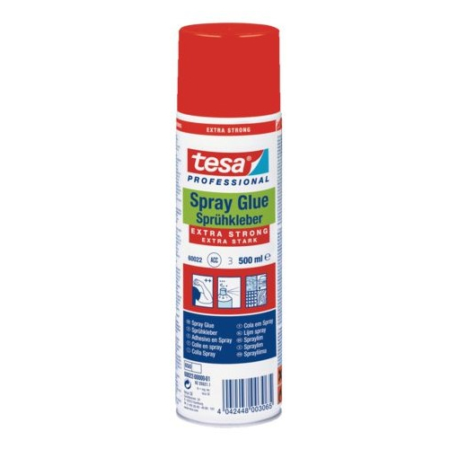 Tesa spray permanent extra strong 500ml